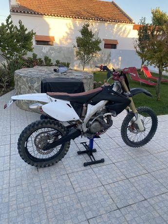Honda CRF 450 R Matriculada