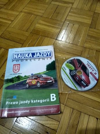 Nauka jazdy podręcznik wraz z płytą z testami