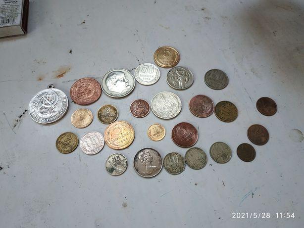 Монеты от 1930х до 1980