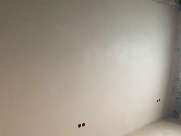 Tynki maszynowe gipsowe i cementowe/gładzie Gipsowe/malowanie