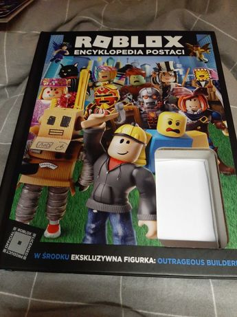 Książka ROBLOX , encyklopedia postaci, bez figurki
