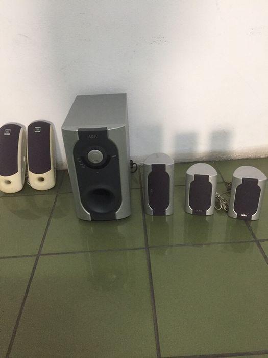 Conjunto colunas de som Feitosa - imagem 1