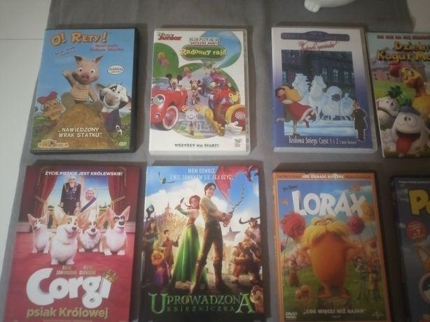 Bajki DVD królowa śniegu  Lorax Smerfy Uprowadzona Księżniczka