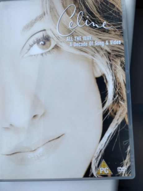 Celine Dion - All the Way... A Decade of Song dvd