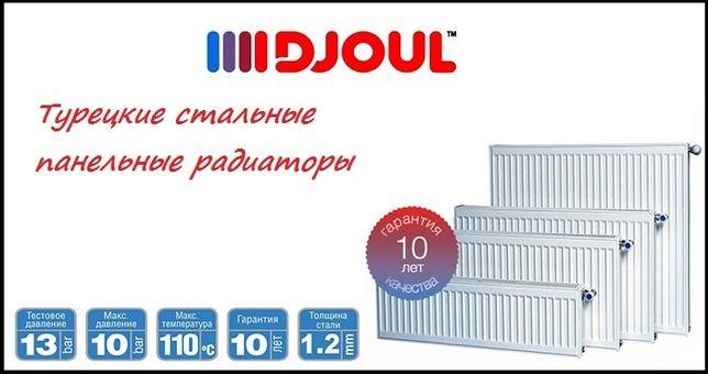 Радиатор стальной DJOUL 22 тип 500х1000 бок