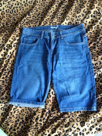 Męskie szorty krótkie spodenki jeansowe Terranova 40 S