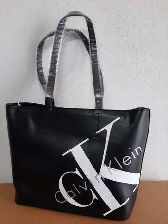 Torebka damska torba shoperka Ck Calvin Klein eko skóra premium