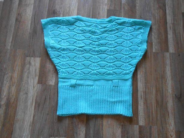 bezrękawnik pulower sweterek L, XL BDB!