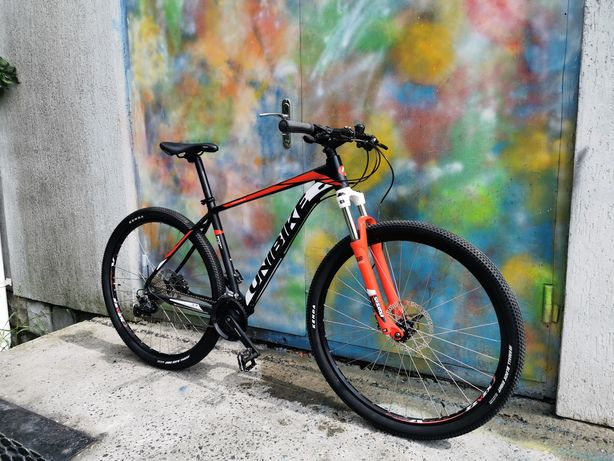 Unibike Mission 29, Найнер на гидравлике, 29 колеса, великий велосипед