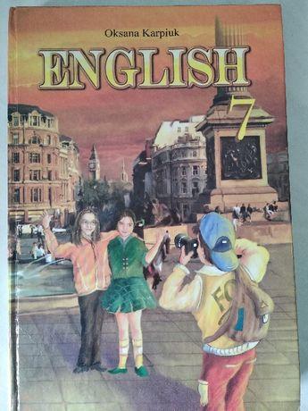Английский язык Оксана Карпюк 7 класс