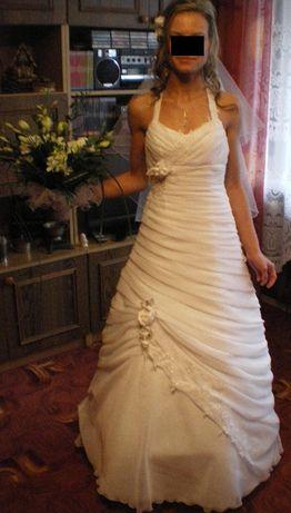 Śliczna Suknia Ślubna rozmiar 36 + GRATIS
