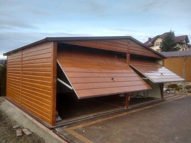 Garaże drewnopodobne na wymiar!