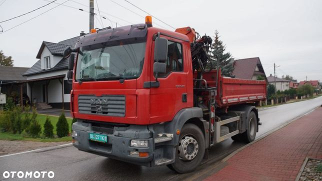 Man Tgm 18.280 Hds + Wywrotka /Rotator / Manual / Euro 4 /