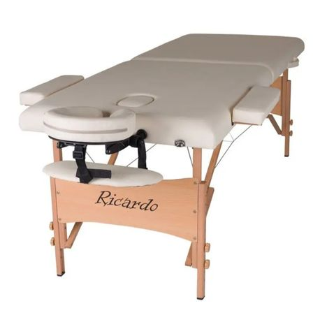 Масажний стіл (переносний)Ricardo ROMA-60 Бежевий