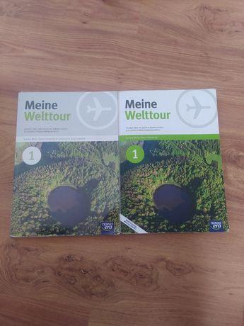 Książki do niemieckiego, meine welttour 1