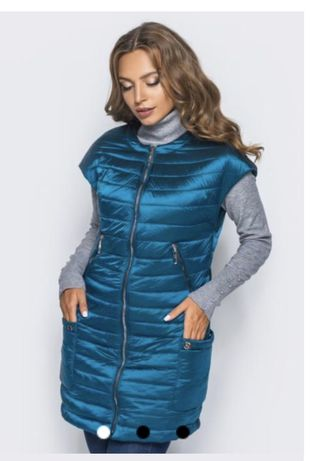 Жилет-куртка- безрукавка
