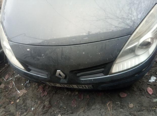 Разборка шрот Renault Scenic капот дверь ляда кпп мотор замок полуось