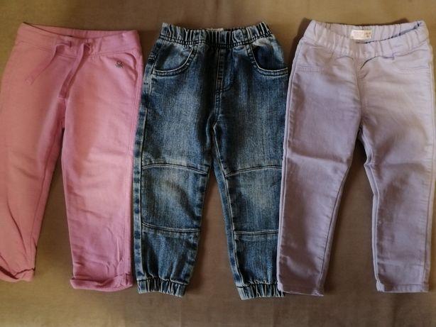 Штаны детские, на девочку, джинсы.