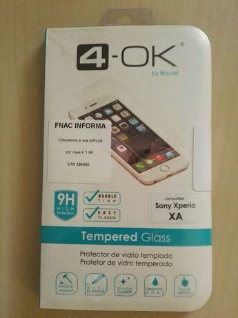 Película de vidro temperado Sony Xperia xa