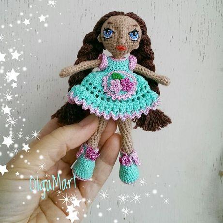 Куколка амигуруми, авторская сувенирная игрушка