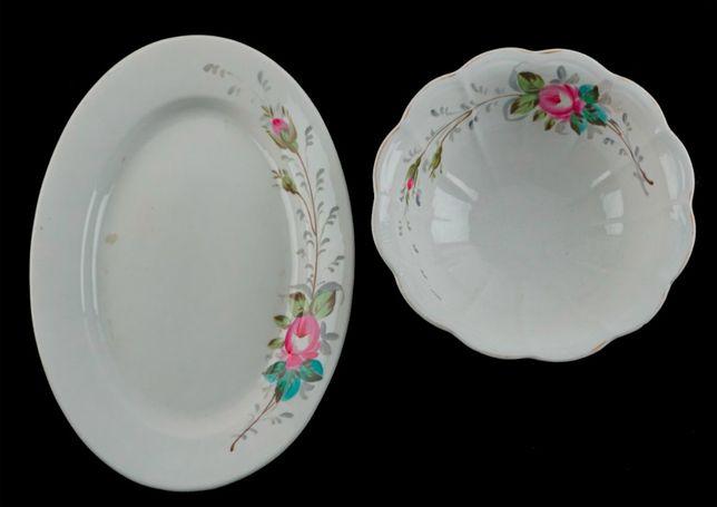 Porcelana Vista Alegre - Travessa e saladeira