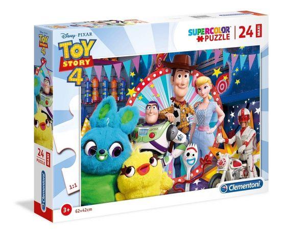 Puzzle Maxi 24 elementy, z bohaterami bajki Toy Story.