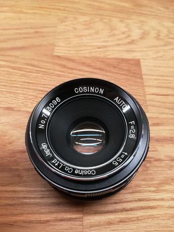 S/Z Cosina Cosinon 2.8 55mm M42 obiektyw do aparatu Zenit i Praktica