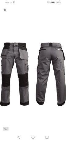Spodnie robocze monterskie marki LEBER&HOLLMAN rozmiar 52