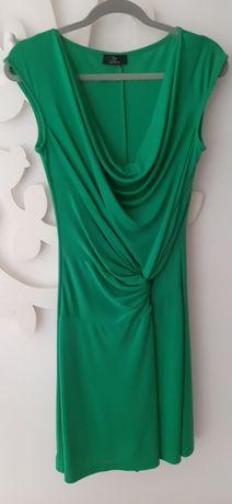 Vestido malha verde maravilhoso