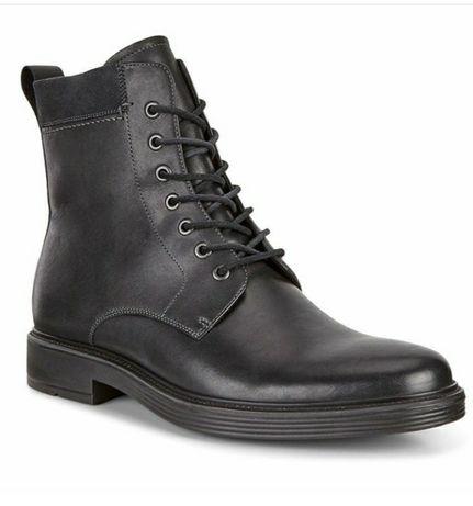 Ботинки кожаные демисезонные ECCO Оригинал. 41р