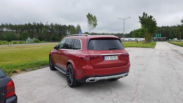 Samochód do ślubu Nowy Ekskluzywny Mercedes GLS