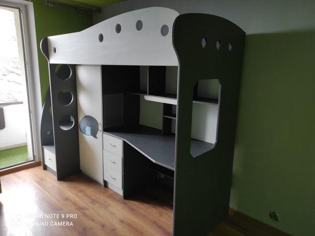 Łużko biurko dla dzieci