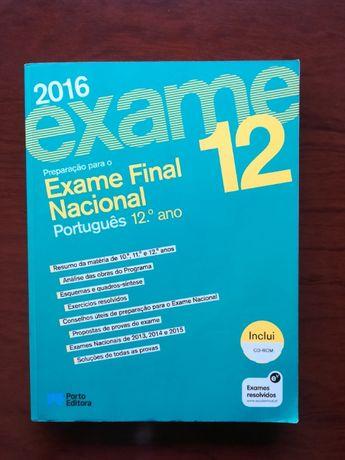 Livro preparação para exame- Português 12ºano