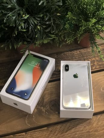 Магазин iPhone X 64 silver Neverlock Original гарантия 3 месяца