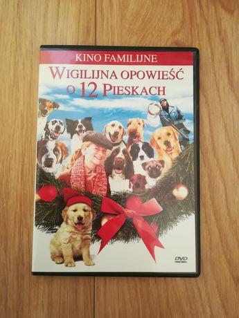 Wigilijna opowieść o 12 pieskach film na DVD