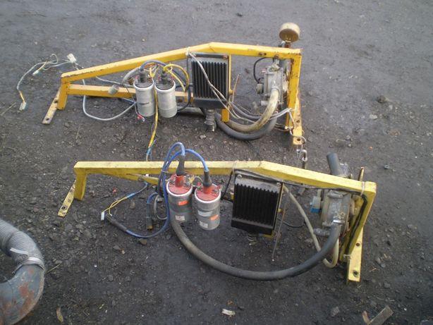 urządzenie gazowe wózek widłowy Rak części