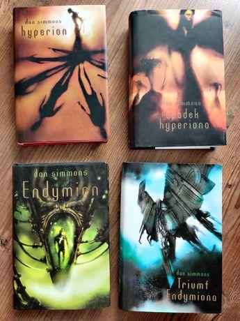 Hyperion Endymion Dan Simmons komplet