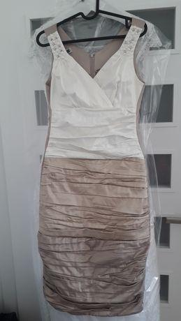 Sukienka marszczona rozm. 38