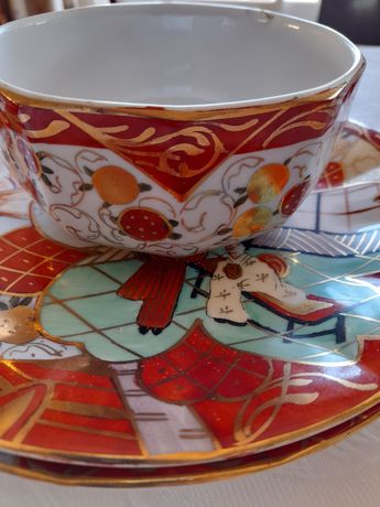 Serviço de chá da Vista Alegre muito antigo