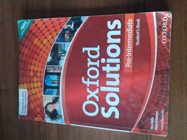 Oxford solution angielski