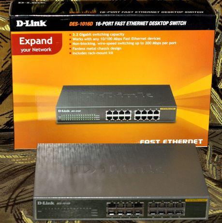 Коммутатор, маршрутизатор,свитч D-Link DES-1060D