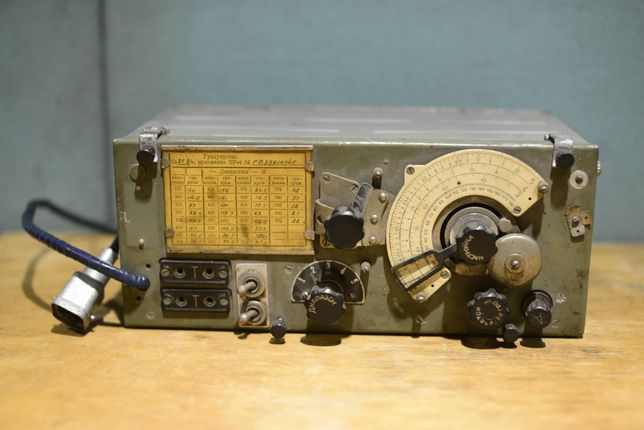 Радиоприемник ПР-4 (УС-1) ламповый военный раритет СССР