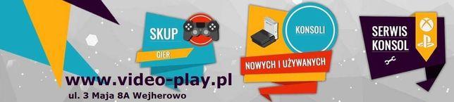 Serwis Naprawa XBOX PlayStation pad analog Skup gier konsol *Wejherowo