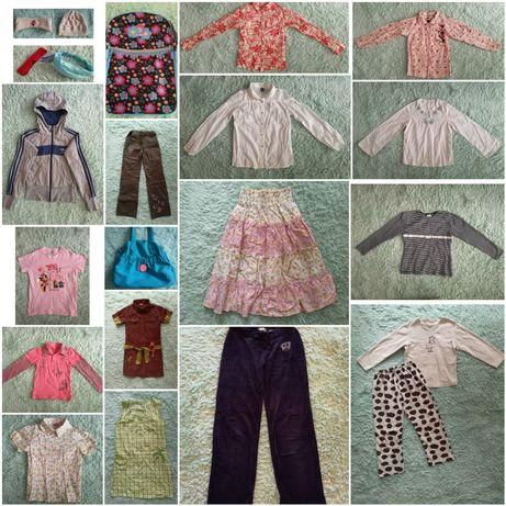 Zestaw ubrań (21sztuk) r.140-146 - cena za całość