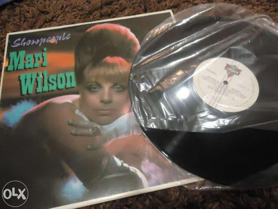 Vendo disco vinil mari wilson show people lp Vila Nova de Famalicão - imagem 1