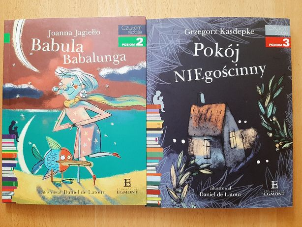 """Książki z serii """"Czytam sobie"""" - 2 szt."""