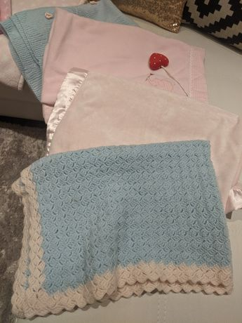 cobertores bebé menina