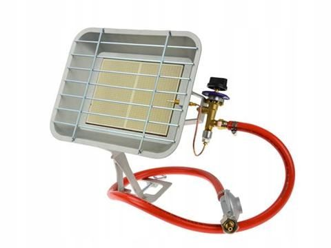 PROMIENNIK GAZOWY NAGRZEWNICA słoneczko 4,6 kW !! reduktor+ przewód