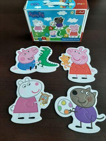 Puzzle Moje pierwsze puzzle Peppa Pig wiek 2+
