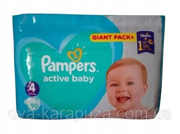 Акция! Подгузники Pampers Active Baby!